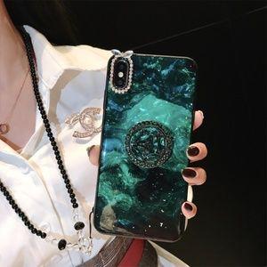 Accessories - Glitter Luxury Phone Case with Kickstand & Lanyard